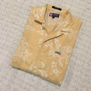 Chaps Ralph Lauren Hawaiian print shirt